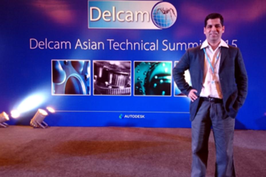 Invited speaker at Delcam ATS-2015